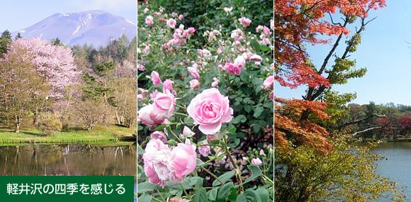 軽井沢の四季を感じる