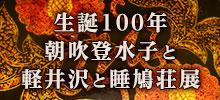 生誕100年 朝吹登水子と軽井沢と睡鳩荘展