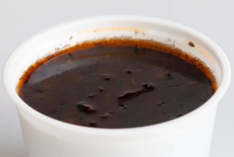 ハロウィーンブラックスープ